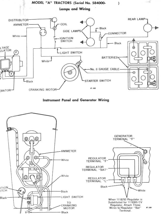 Wiring diagram for john deere model lt